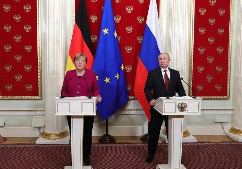 News conference following Russian-German talks